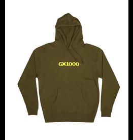 GX1000 GX1000 PULLOVER HOODIE OG LOGO ARMY GREEN