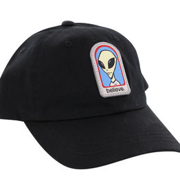 ALIEN WORKSHOP ALIEN WORKSHOP BELIEVE DAD HAT BLACK