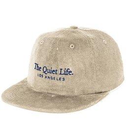 THE QUIET LIFE THE QUIET LIFE SERIF POLO CORDUROY HAT STONE