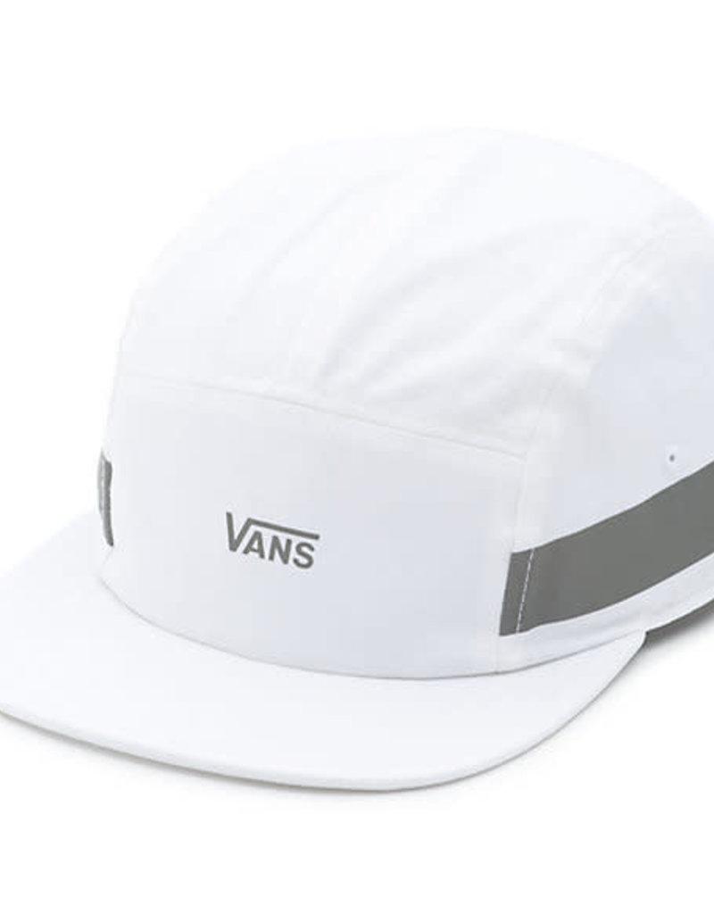 VANS VANS OBSTICLE REFLECTIVE CAMPER CAP HAT WHITE