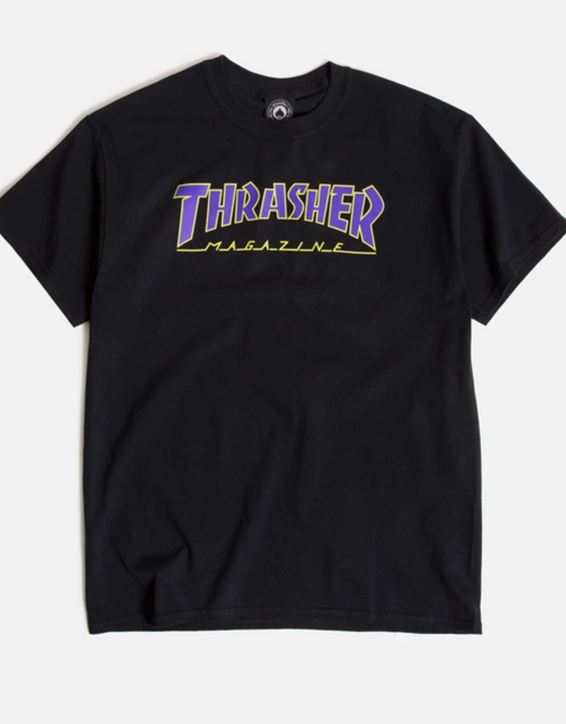 THRASHER THRASHER OUTLINED TEE SHIRT