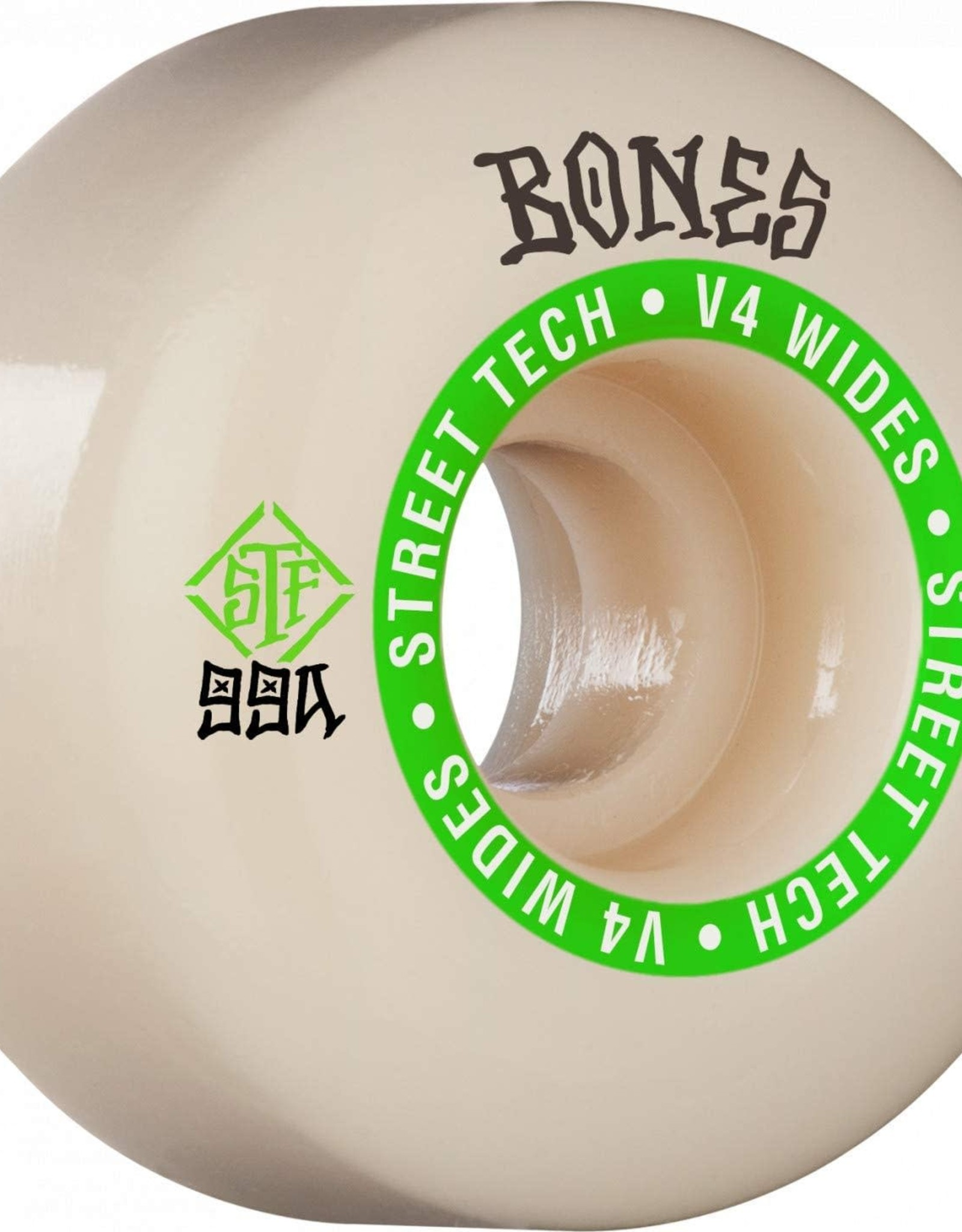 BONES BONES STF V5 NINETY-NINES 53 WHITE WHEELS