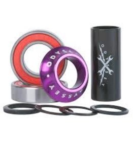 ODYSSEY ODYSSEY BOTTOM BRACKET MID 22MM ANODIZED PURPLE
