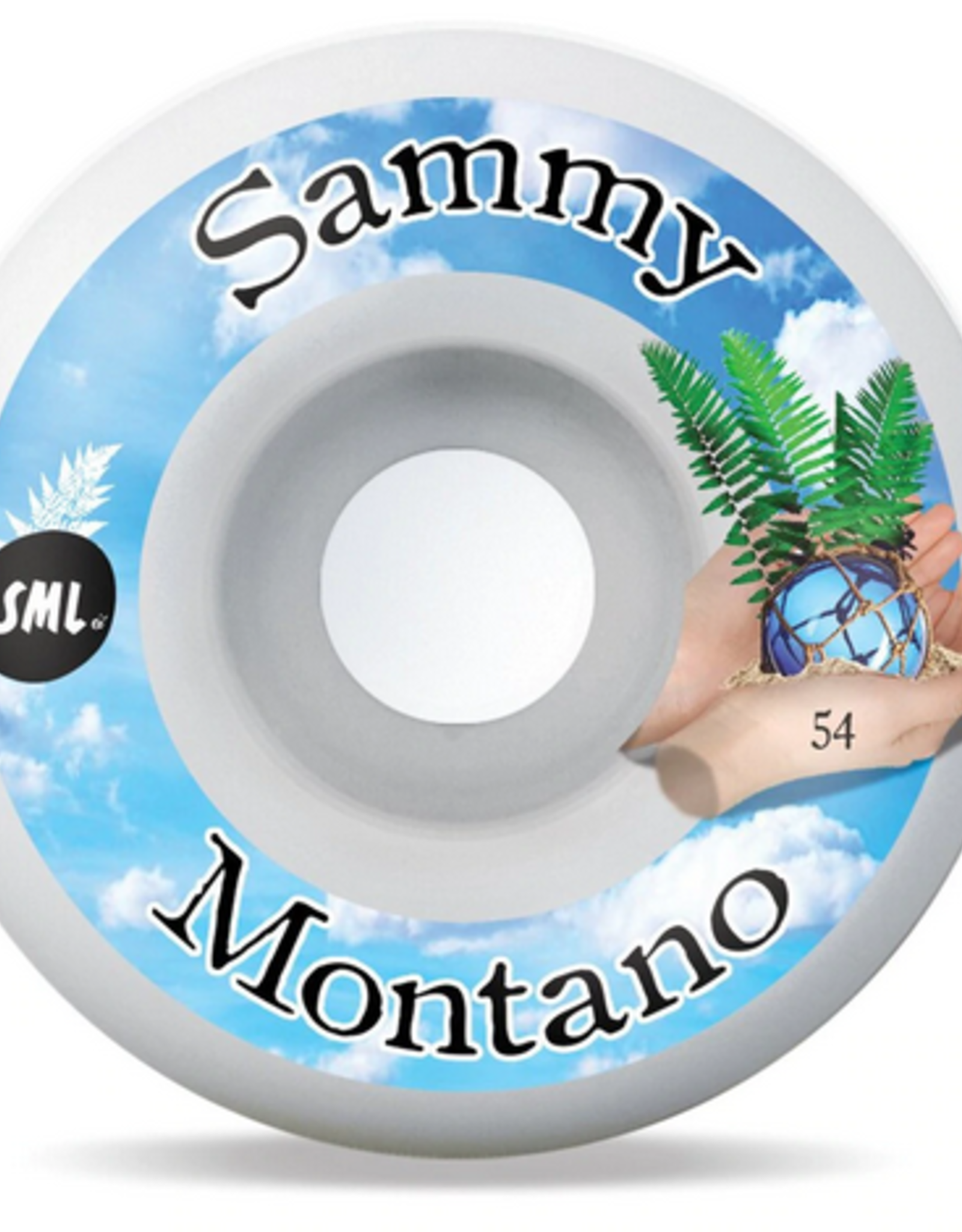 SML SML WHEELS TIDE POOL SAMMY MONTANO OG WIDE 99A 54MM
