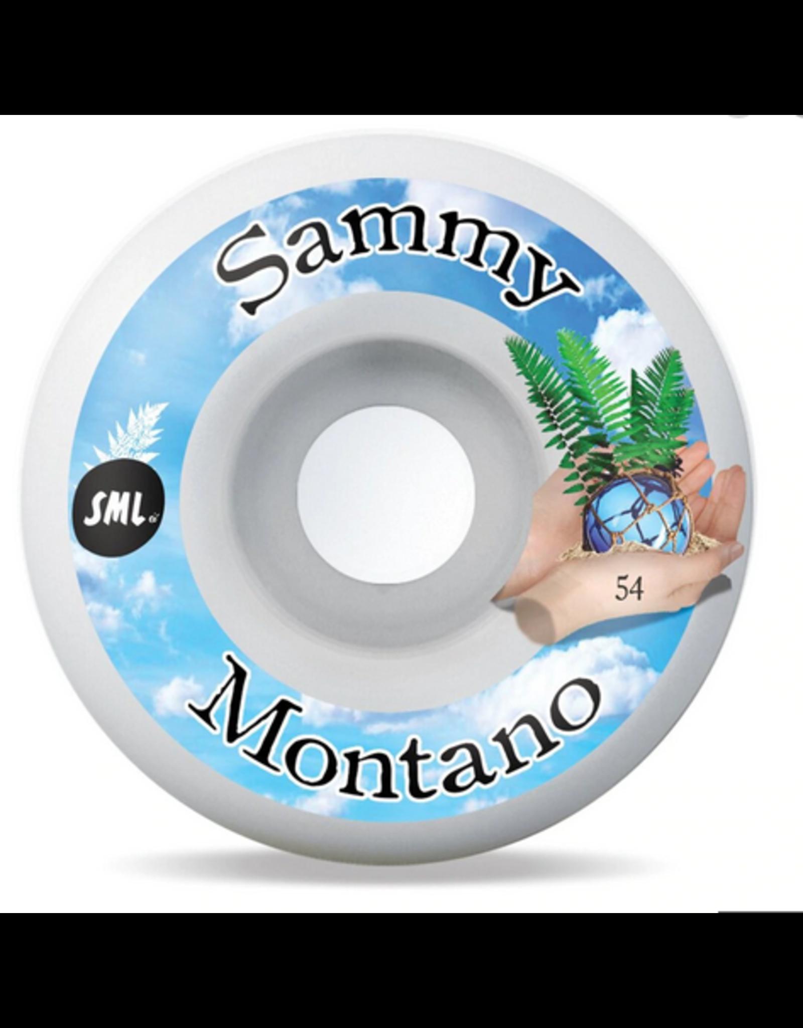 SML SML WHEELSTIDE POOL SAMMY MONTANO OG WIDE 99A 54MM
