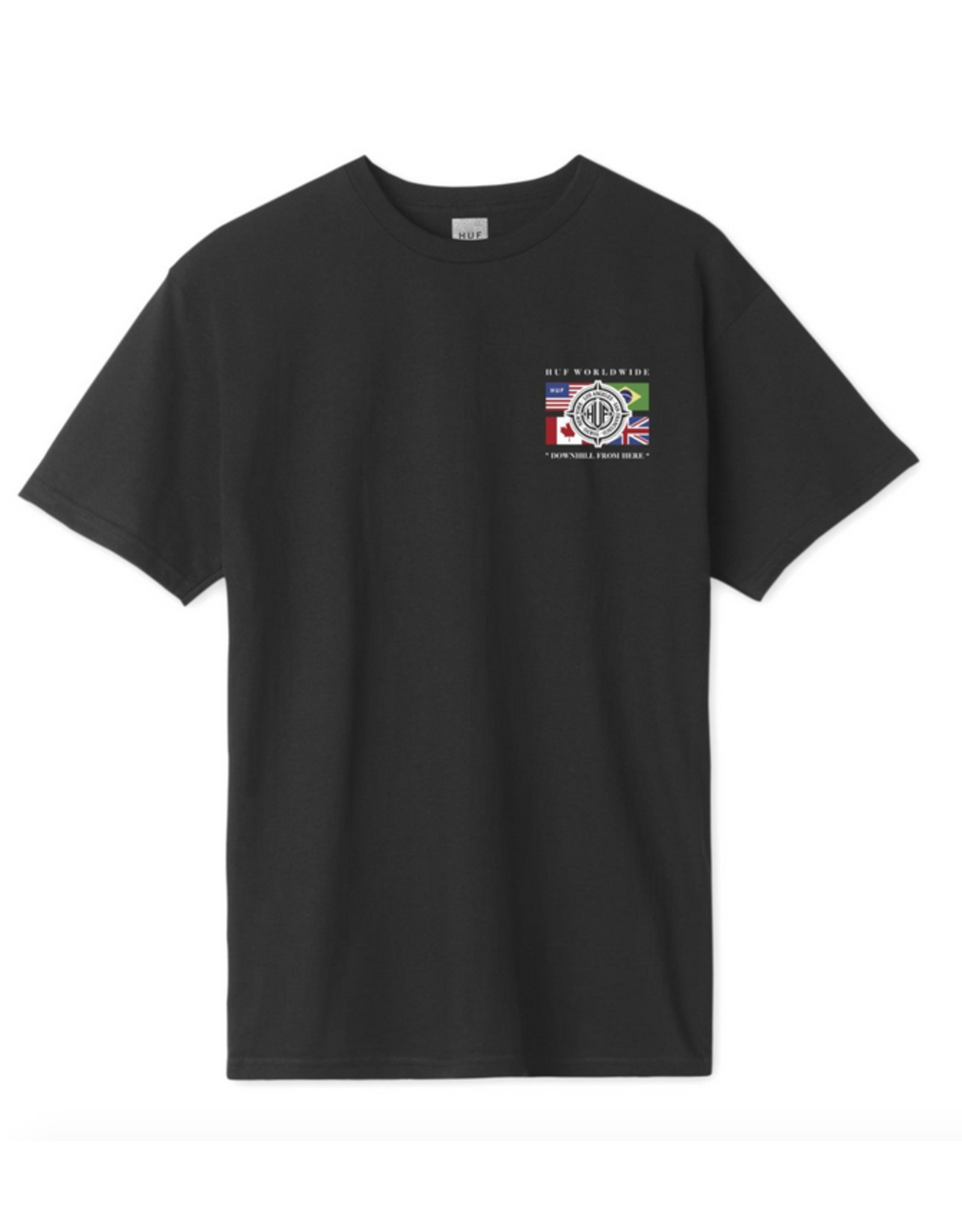 HUF HUF GLOBAL WAVE TEE SHIRT