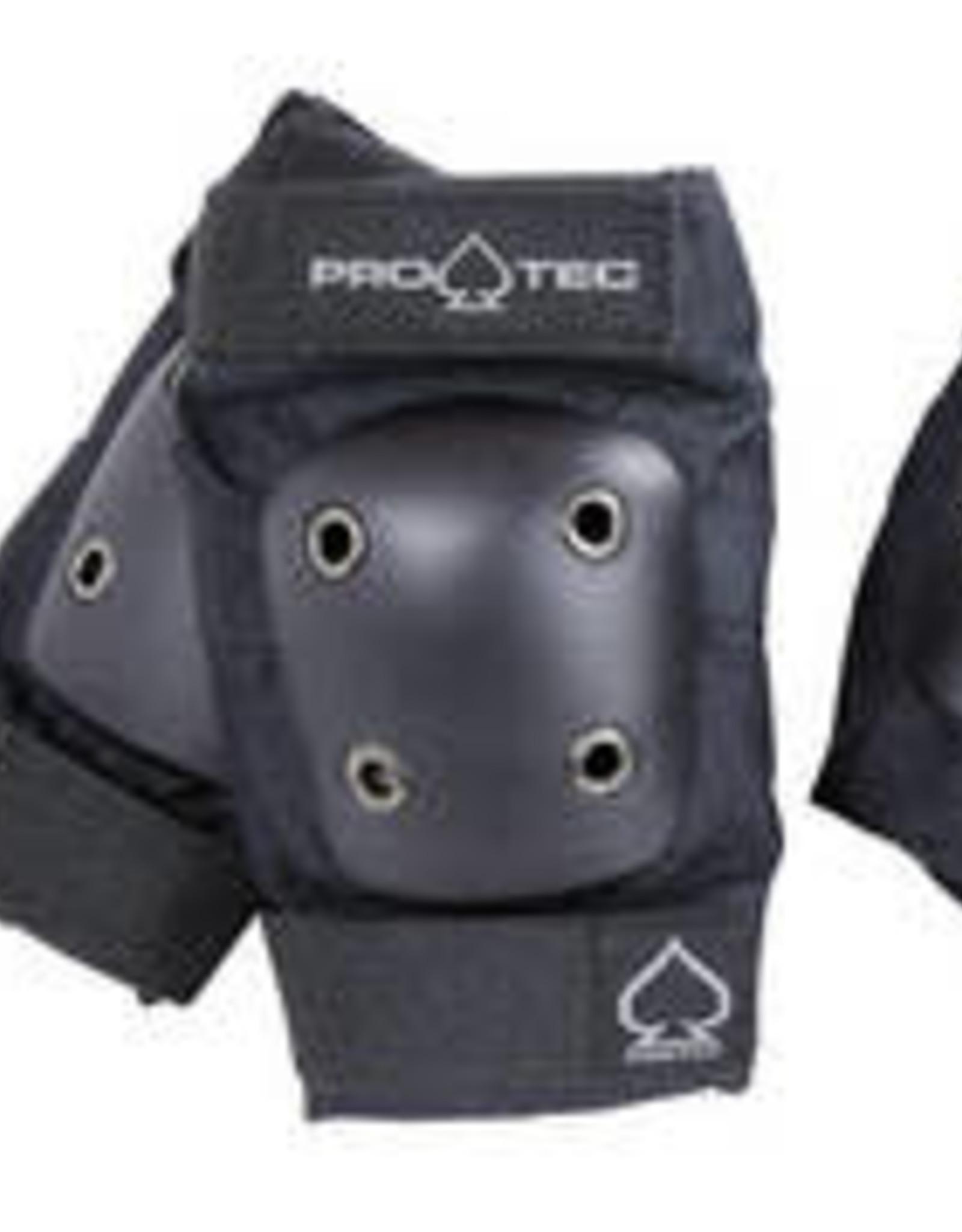 PRO-TEC JUNIOR 3 PACK PADS BLACK (YOUTH MEDIUM)