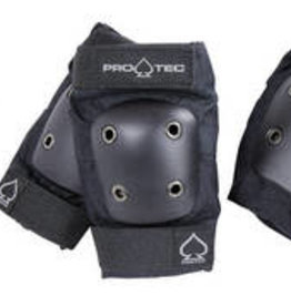 PRO-TEC JUNIOR 3 PACK PADS BLACK (YOUTH MEDIUM)
