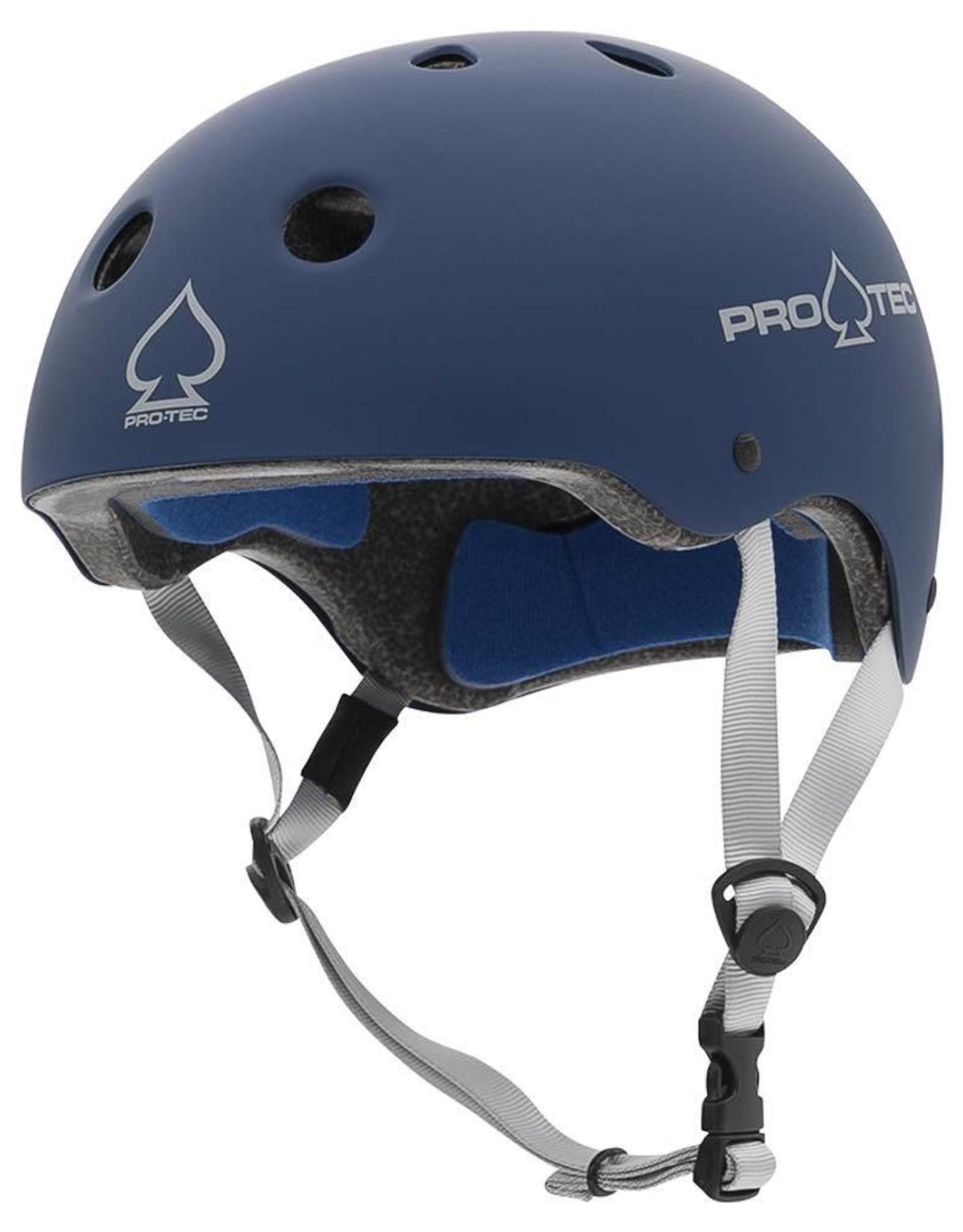 PROTEC PRO-TEC HELMET CLASSIC CERT MATTE BLUE