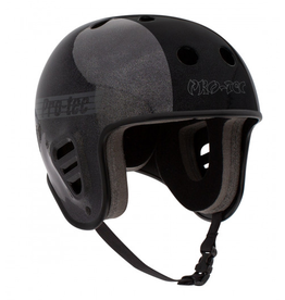 PRO-TEC FULL CUT CERTIFIED HOSOI METALLIC BLACK HELMET LARGE