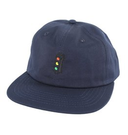 TRAFFIC TRAFFIC LIGHT SNAPBACK HAT NAVY