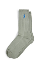 POLAR POLAR NO COMPLY SOCKS MENS 39/42 SMOKE