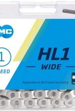 KMC KMC HALF LINK BMX CHAIN SILVER