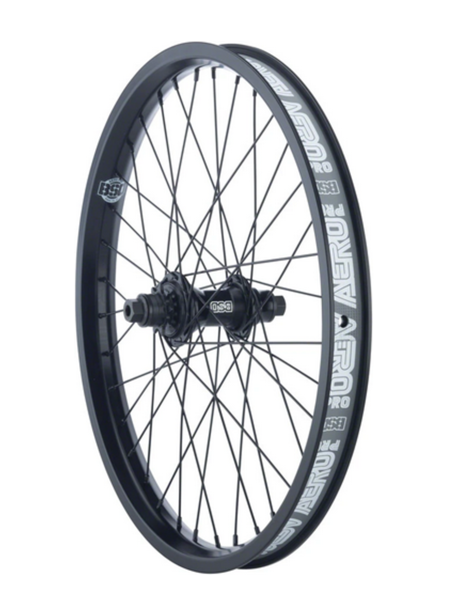 BSD BSD AERO PRO FC REAR WHEEL RHD BLACK 9T