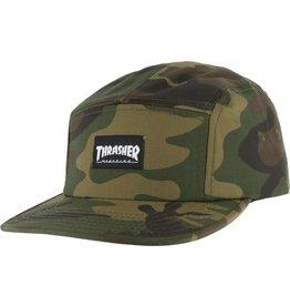 THRASHER THRASHER 5 PANEL CAMO CAP HAT