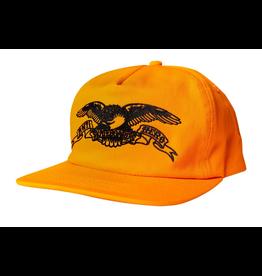 ANTIHERO ANTI HERO CLASSIC EAGLE ORANGE SNAPBACK HAT