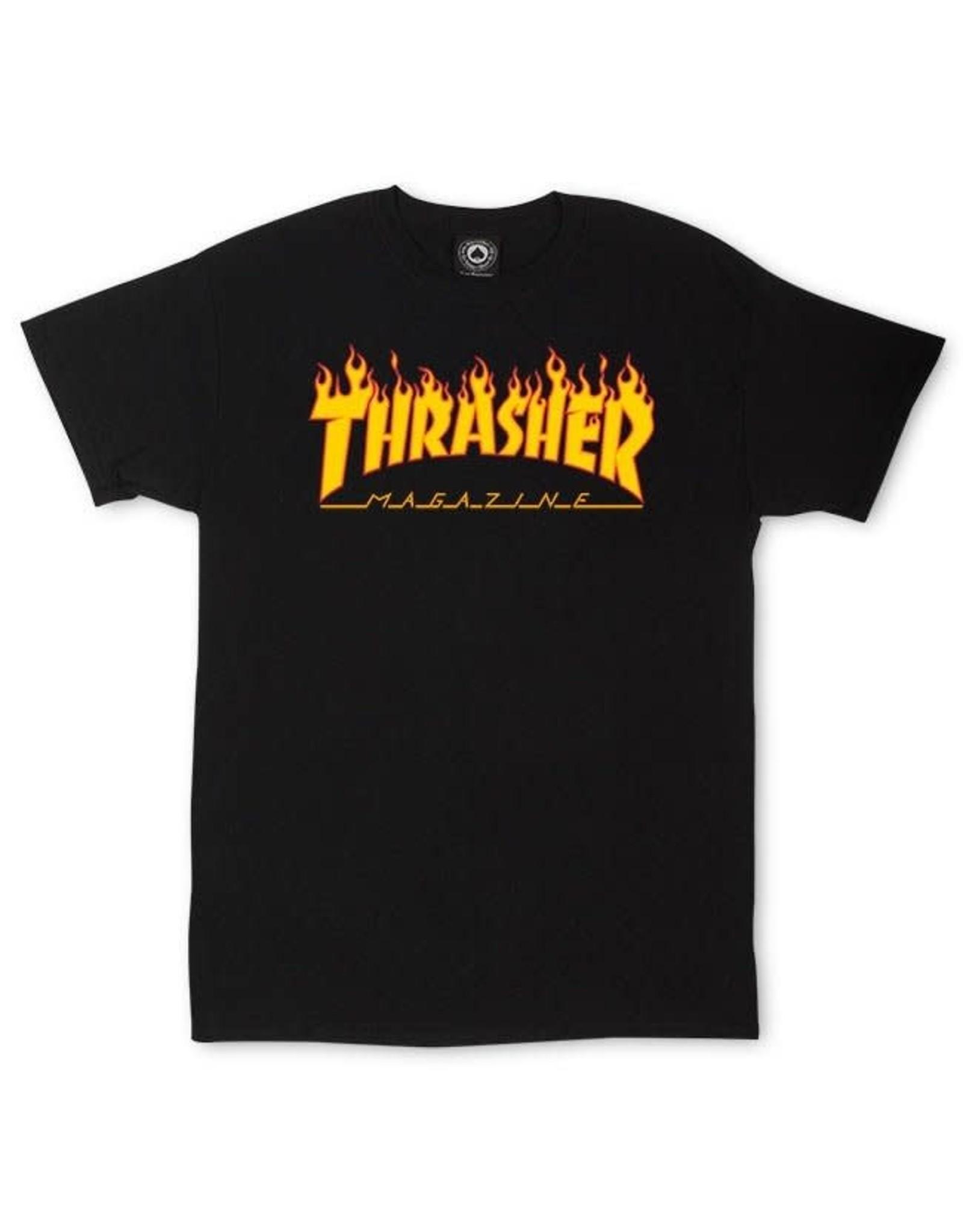 THRASHER FLAME TEE SHIRT