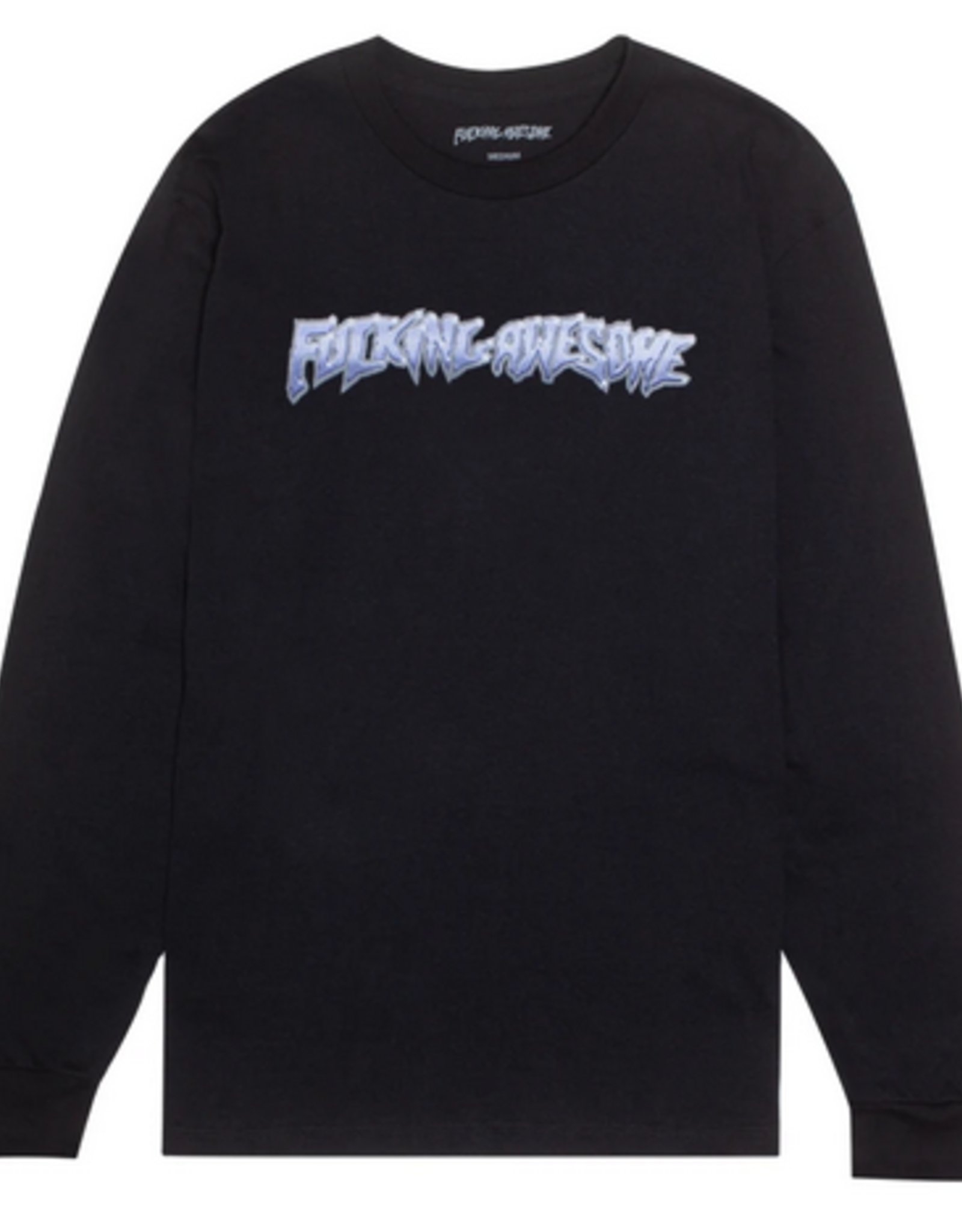 FUCKING AWESOME FA FUCKING AWESOME CHROME L/S TEE BLACK