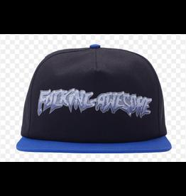 FUCKING AWESOME FUCKING AWESOME CHROME HAT BLACK ROYAL