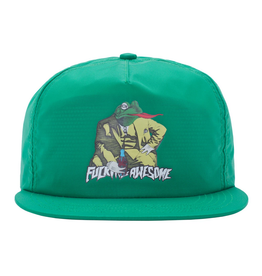 FUCKING AWESOME FUCKING AWESOME FROGMAN HAT GREEN
