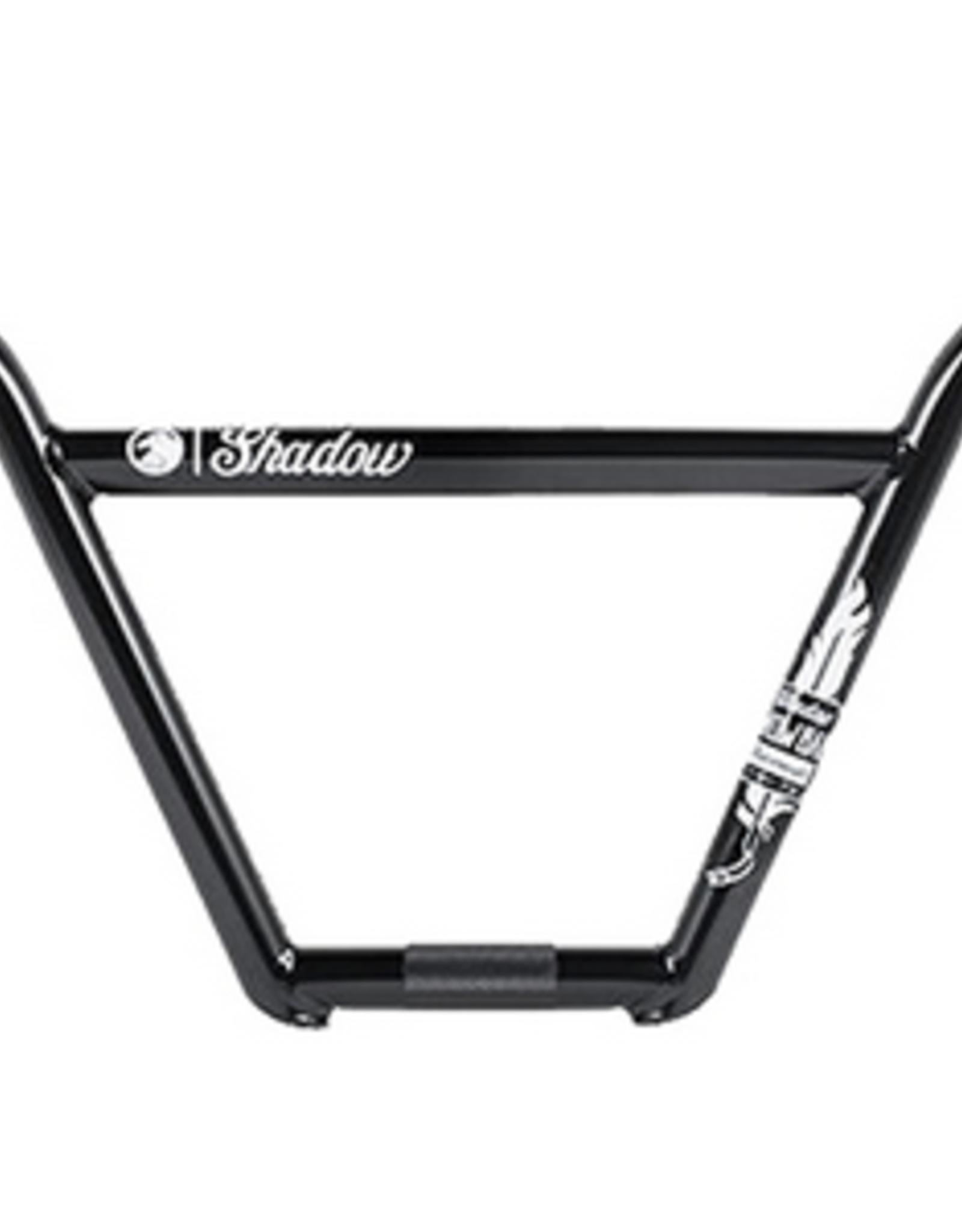 "SHADOW TSC SHADOW FW CROWBAR 9.10"" 4 PIECE BMX BARS MATTE BLACK"