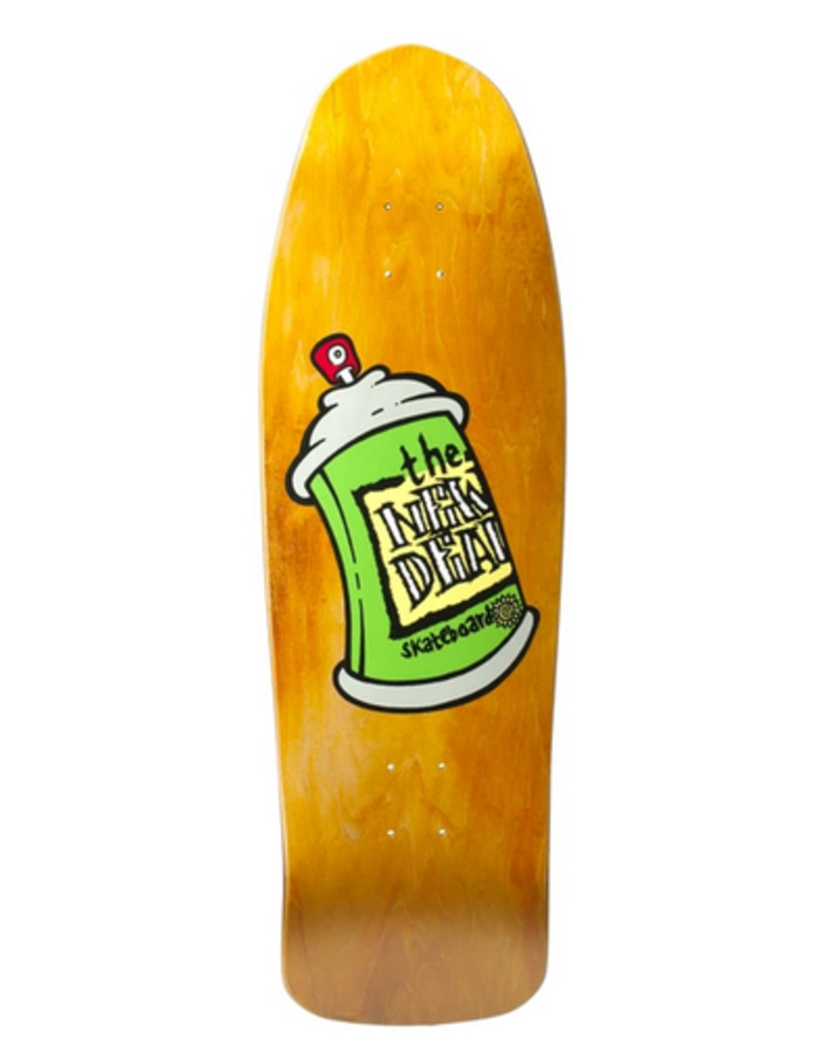 NEW DEAL NEW DEAL ORANGE SPRAY CAN 9.75 X 31.5 DECK