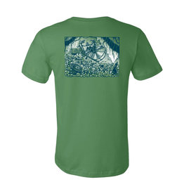 HIGHWATER HIGHWATER LATER GATOR TEE SHIRT GREEN