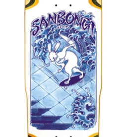 POLAR POLAR SHIN SANBONGI SKATE RABBIT WHEEL WELL DECK