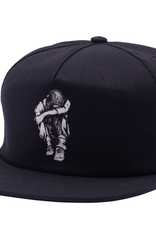 HOCKEY HOCKEY MISSING KID SNAPBACK HAT BLACK