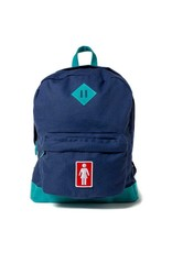 GIRL GIRL SIMPLE BACKPACK TEAL/NAVY