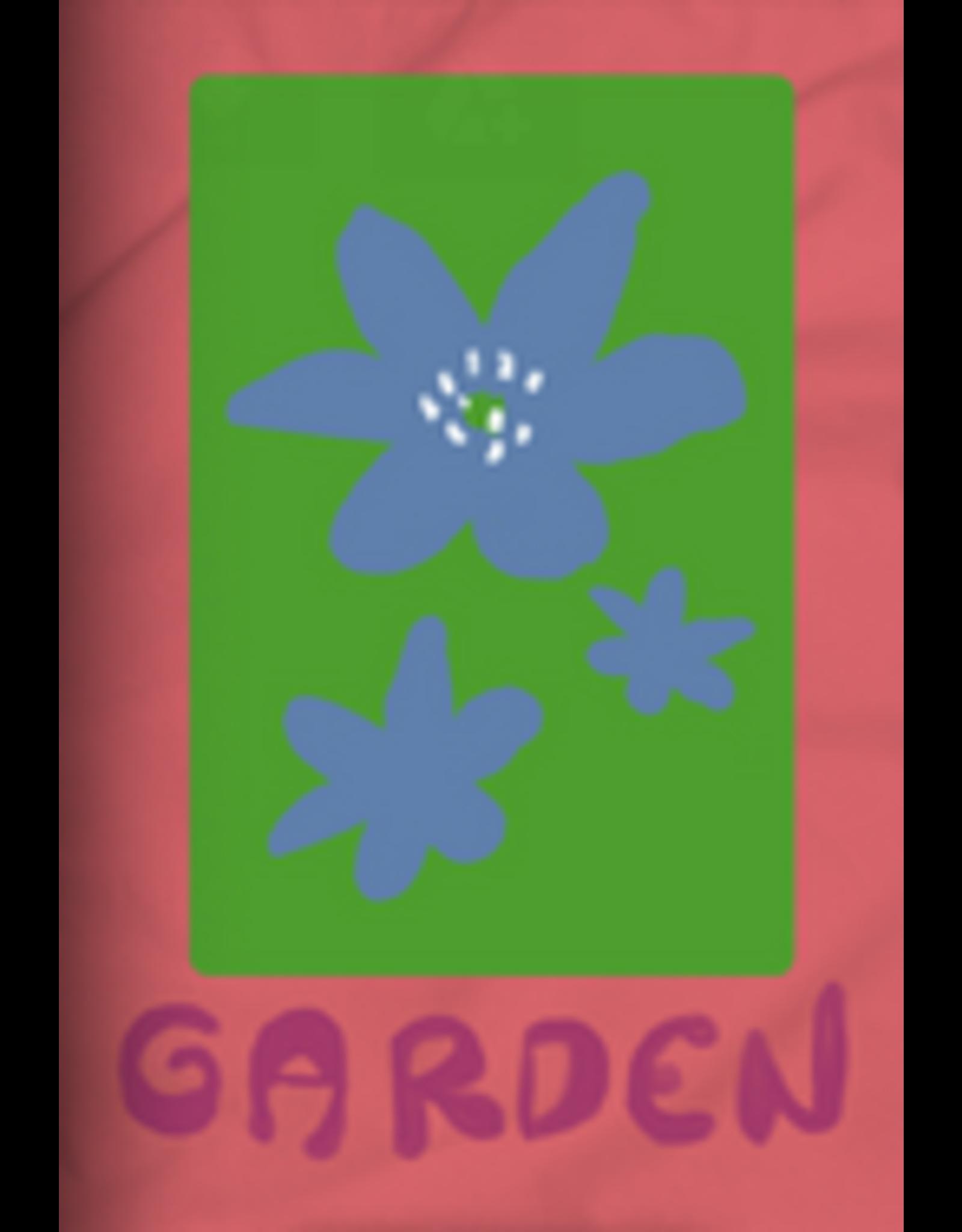 GARDEN GARDEN MAYFLOWER STICKER CORAL