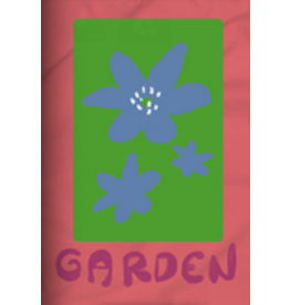 GARDEN GARDEN MAYFLOWER STICKER CORAL