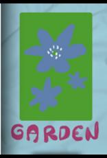 GARDEN GARDEN MAYFLOWER STICKER BLUE