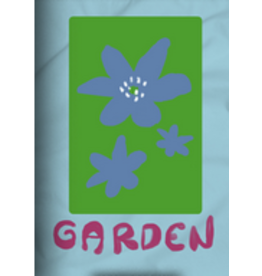GARDEN GARDEN MAYFLOWER STICKER BLUE