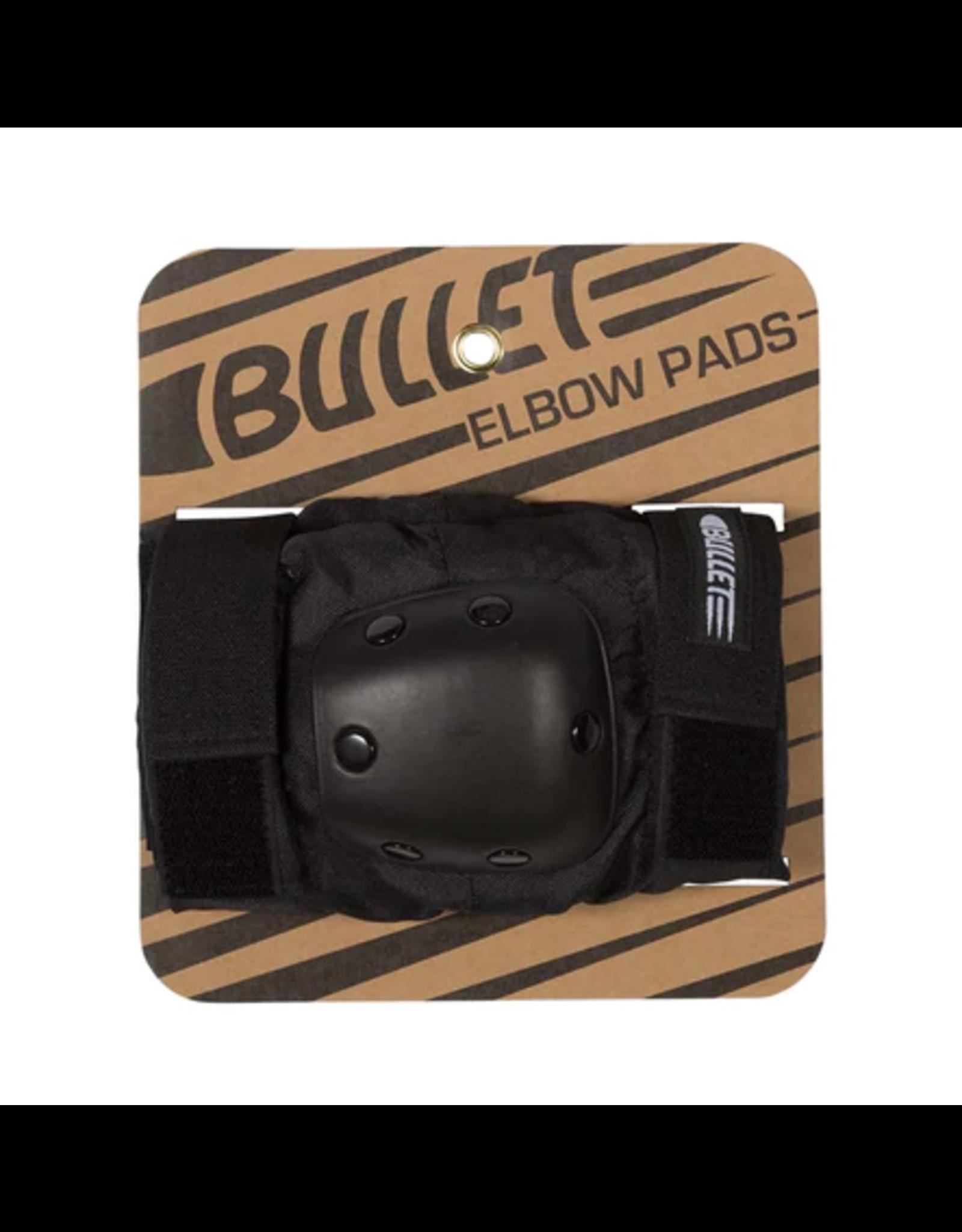 BULLET BULLET ELBOW PADS ADULT BLACK