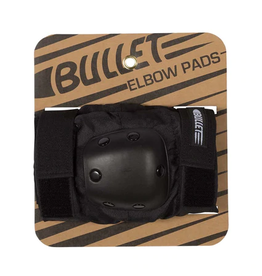 BULLET BULLET ELBOW PADS ADULT BLACK