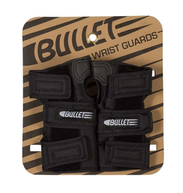 BULLET BULLET WRIST GUARDS ADULT BLACK