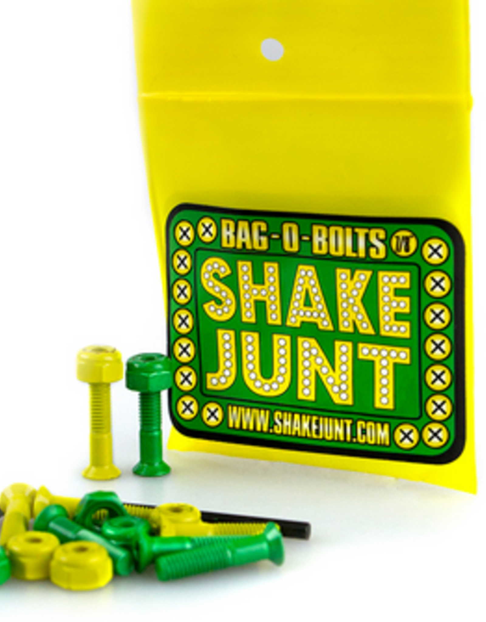 SHAKE JUNT SHAKE JUNT 7/8 PHILLIPS HARDWARE SET GRN YLW