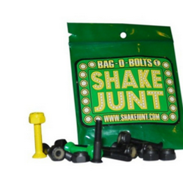 "SHAKE JUNT SHAKE JUNT 1""PHILLIPS HARDWARE SET BLACK W/GRN YLW"