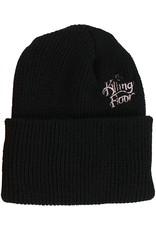 THE KILLING FLOOR THE KILLING FLOOR LOGO WATCH CAP TKF BLACK