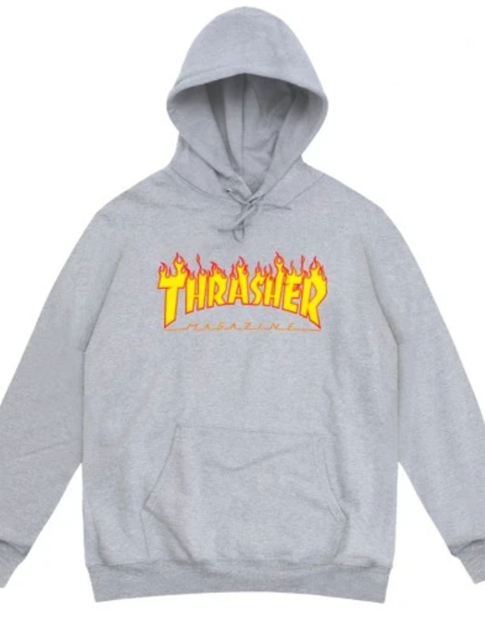 THRASHER THRASHER FLAMES PULLOVER HOODIE