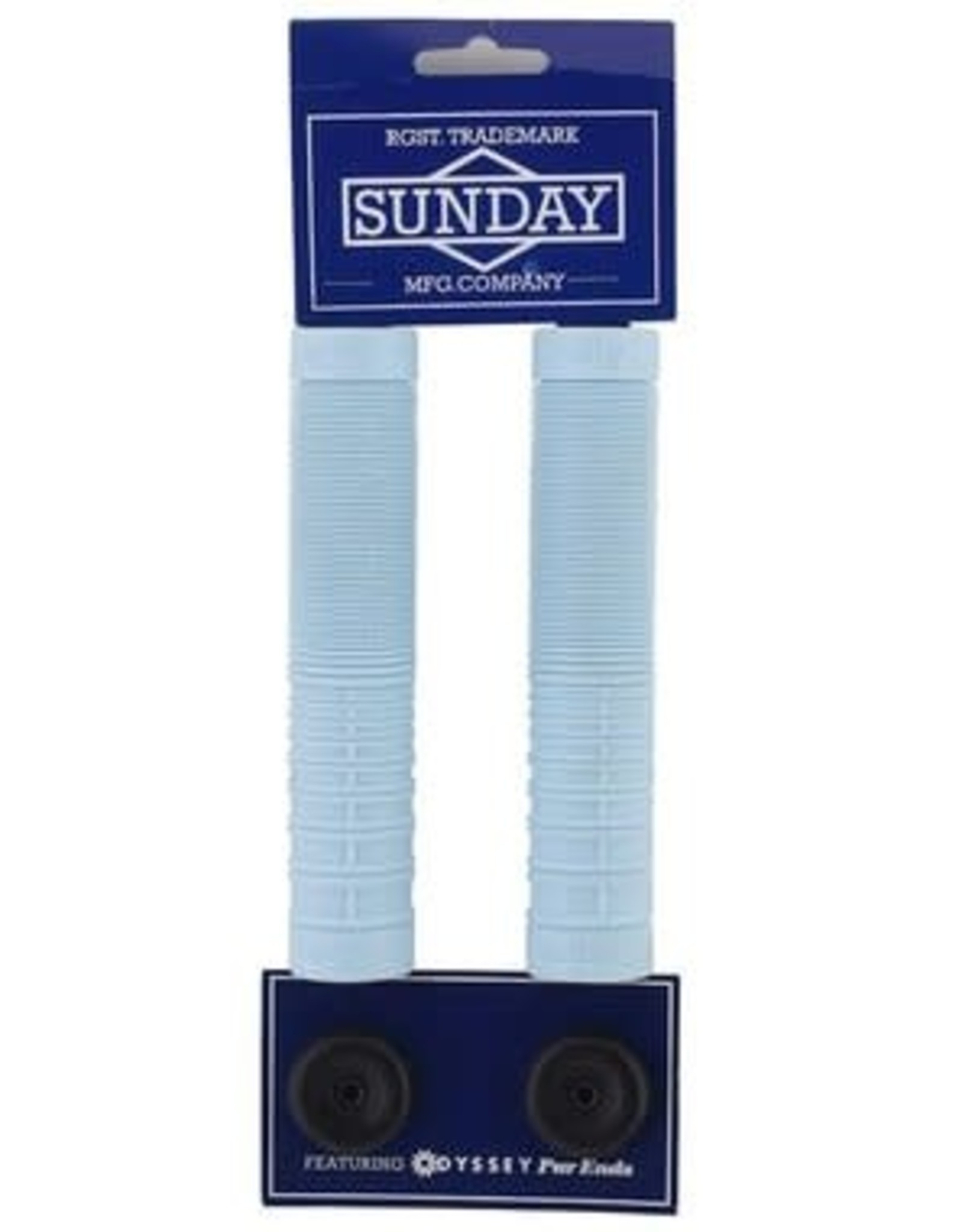 SUNDAY SUNDAY SEELEY BMX GRIPS SKY BLUE