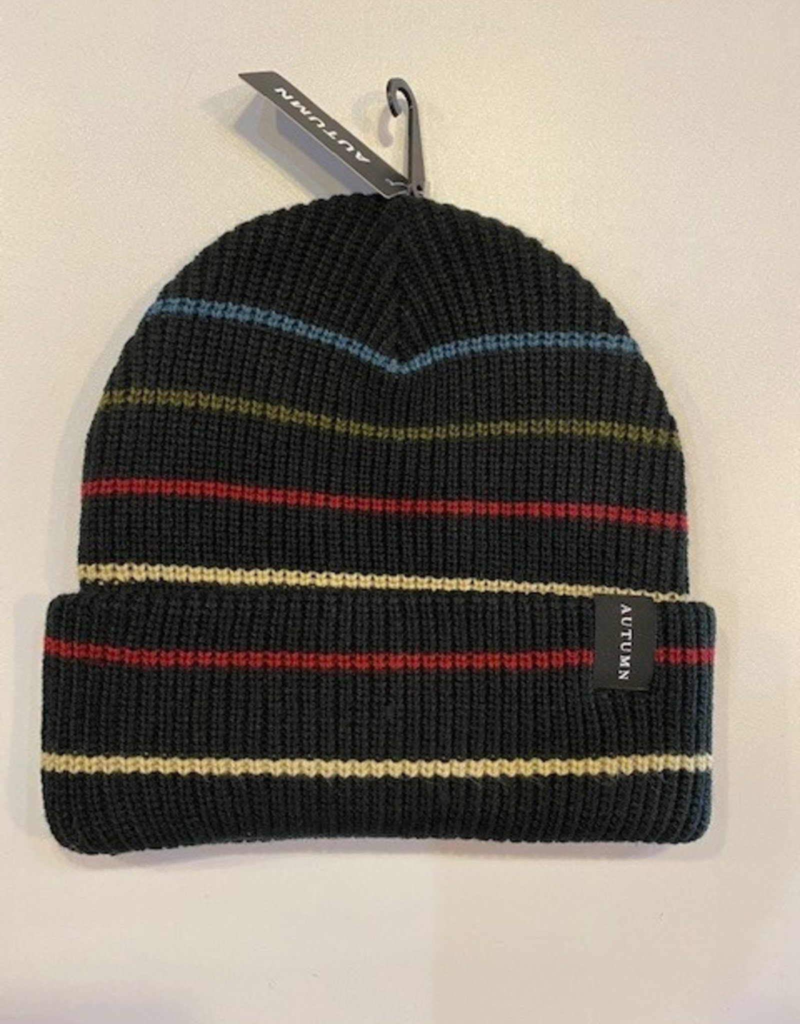 AUTUMN AUTUMN 2021 STRIPED BEANIE