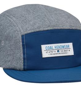 COAL COAL BRIDGER FLEECE 5 PANEL CAP NAVY