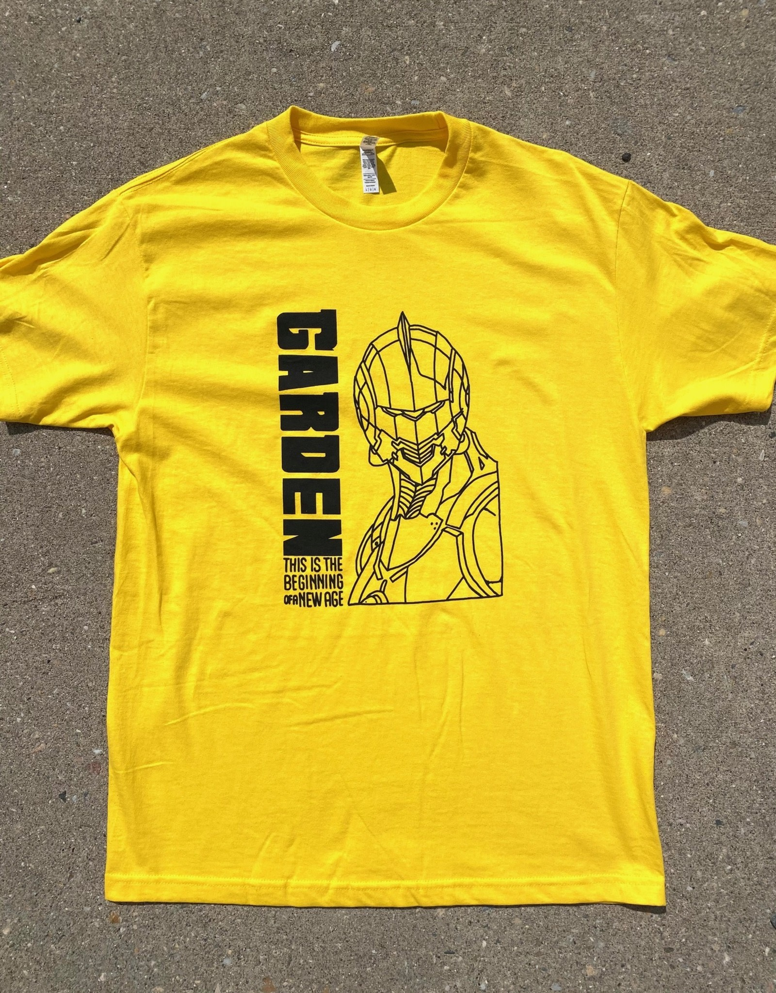 GARDEN GARDEN NEW AGE TEE YELLOW