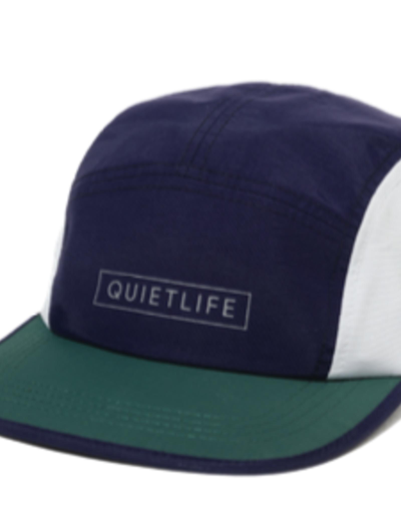 THE QUIET LIFE THE QUIET LIFE COLORBLOCK 5 PANEL CAMPER CAP MULTI