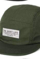 THE QUIET LIFE THE QUIET LIFE FOUNDATION OLIVE 5 PANEL CAMPER CAP