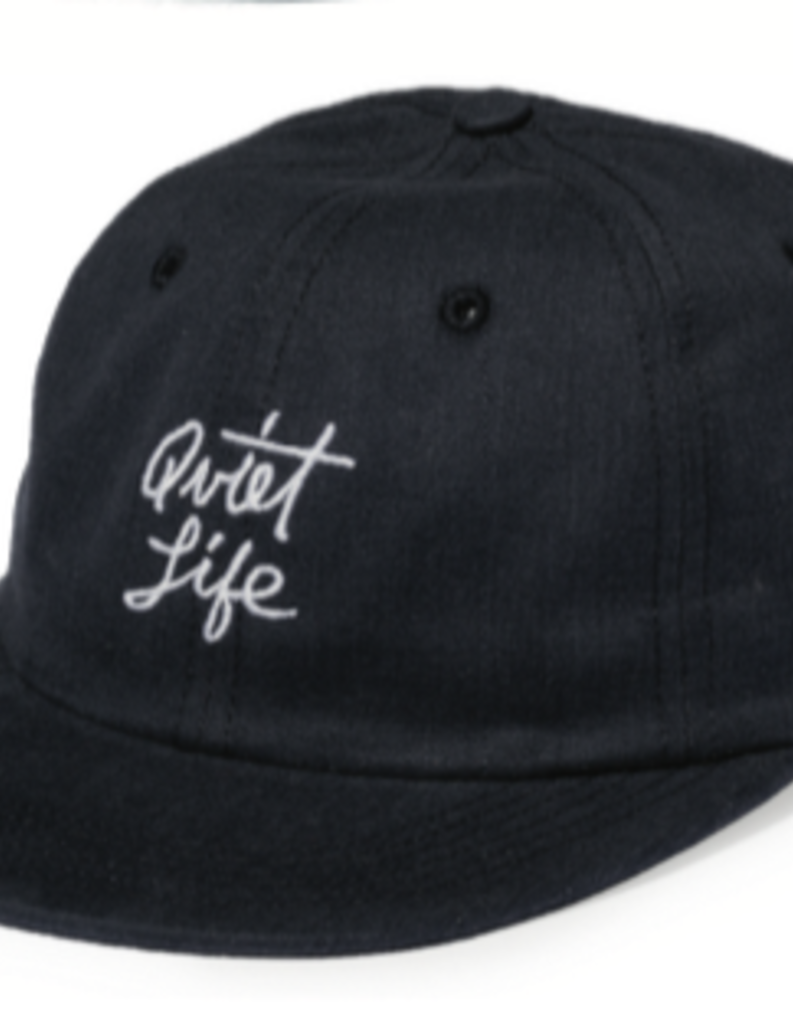 THE QUIET LIFE THE QUIET LIFE SCRIPT POLO BLACK CAP
