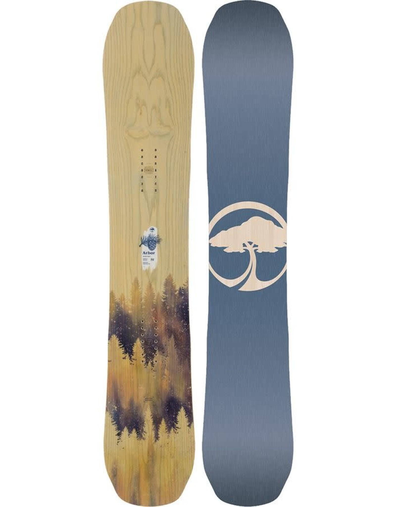 ARBOR ARBOR 2020 SWOON CAMBER SNOWBOARD