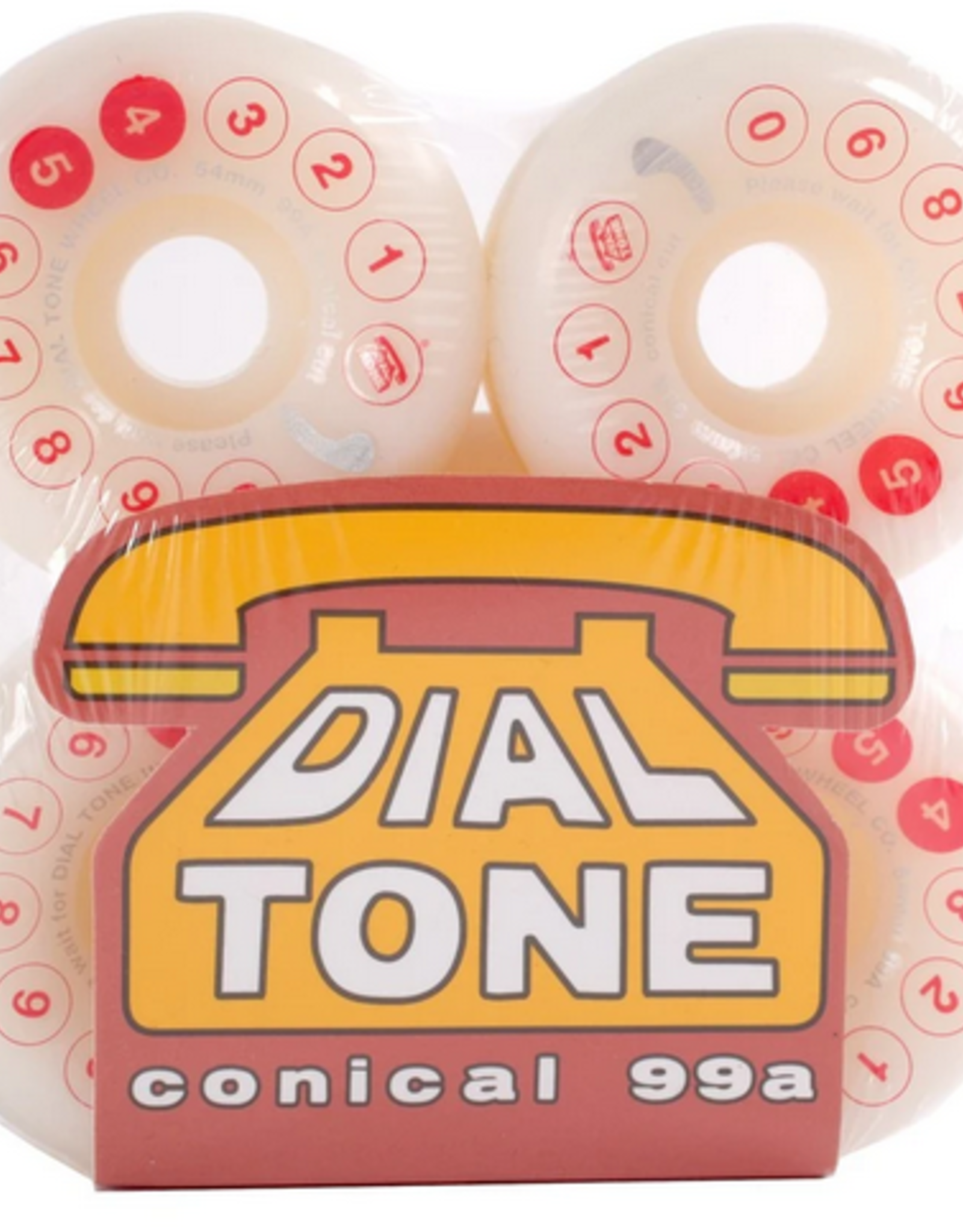 DIAL TONE DIAL TONE 54MM 99A ROTARY DIGITAL CONICAL WHEELS